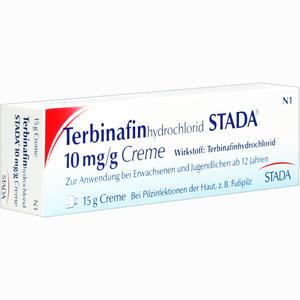 Abbildung von Terbinafinhydrochlorid Stada 10mg/g Creme  15 g