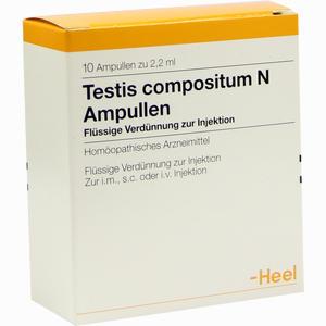 Abbildung von Testis Compositum N Ampullen  10 Stück