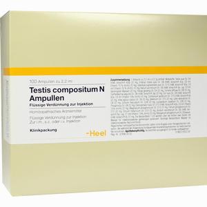 Abbildung von Testis Compositum N Ampullen  100 Stück