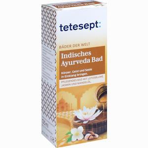 Abbildung von Tetesept Indisches Ayurveda Bad Bad 125 ml