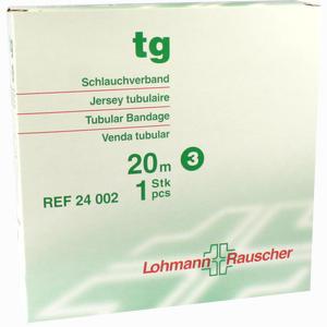 Abbildung von Tg Schlauchverband Gr. 3 Weiß 20m 1 Stück