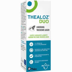Abbildung von Thealoz Duo Augentropfen 10 ml