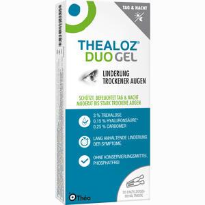 Abbildung von Thealoz Duo Gel Augengel 30 x 0.4 g