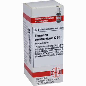 Abbildung von Theridion Curassavicum C30 Globuli  10 g