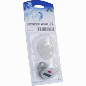Abbildung von Thermometer- Sauger Weiß Aus Silikon 0- 18 Monate 1 Stück