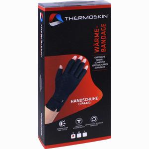 Abbildung von Thermoskin Wärmebandage Handschuh S  2 Stück