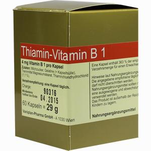 Abbildung von Thiamin Kapseln- Vitamin B1  60 Stück