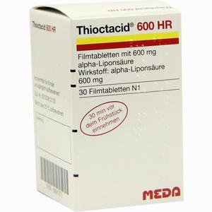 Abbildung von Thioctacid 600 Hr Filmtabletten 30 Stück