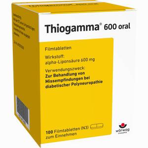 Abbildung von Thiogamma 600 Oral Filmtabletten 100 Stück