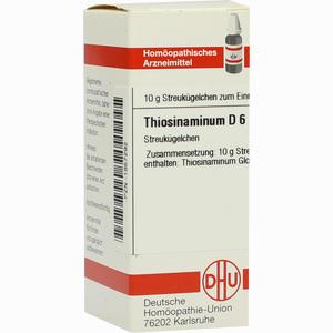 Abbildung von Thiosinaminum D6 Globuli 10 g