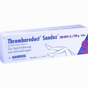 Abbildung von Thrombareduct Sandoz 180 000 I.e. Salbe  100 g