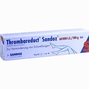 Abbildung von Thrombareduct Sandoz 60.000 I.e. Gel Gel 40 g