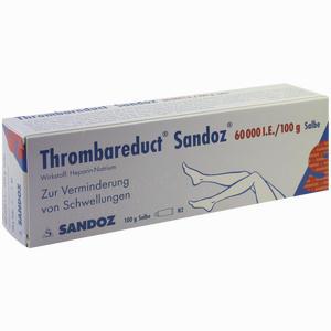 Abbildung von Thrombareduct Sandoz 60.000 I.e. Salbe  100 g