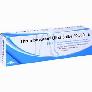 Abbildung von Thrombocutan Ultra Salbe 60000  100 g