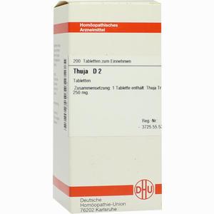 Abbildung von Thuja D2 Tabletten 200 Stück