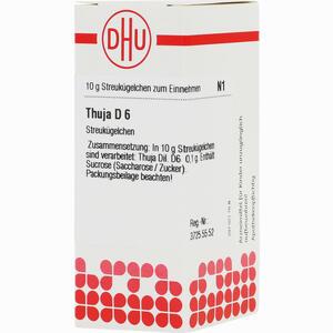 Abbildung von Thuja D6 Globuli 10 g