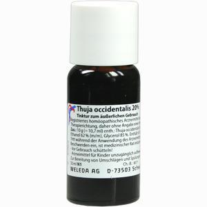 Abbildung von Thuja Occidentalis 20% äußerlich Tinktur 50 ml