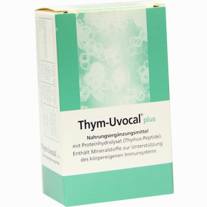 Abbildung von Thym Uvocal Plus Nahrungsergänzungsmittel Kapseln 30 Stück