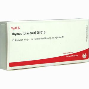 Abbildung von Thymus (glandula) Gl D10 Ampullen 10 x 1 ml