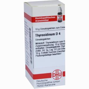 Abbildung von Thyreoidinum Suis D4 Globuli 10 g