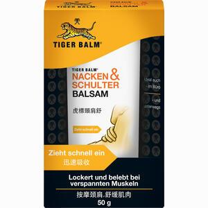 Abbildung von Tiger Balm Nacken & Schulter Balsam  50 g