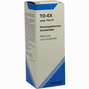 Abbildung von To- Ex Spag. Peka N Tropfen 30 ml