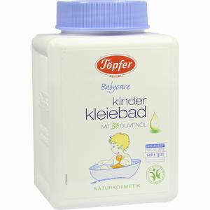 Abbildung von Töpfer Kinder Kleiebad mit Öl Bad 250 g