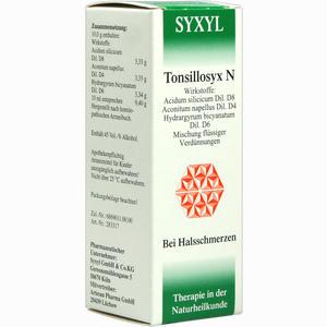 Abbildung von Tonsillosyx N Syxyl Lösung 30 ml
