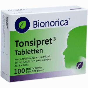 Abbildung von Tonsipret Tabletten  100 Stück