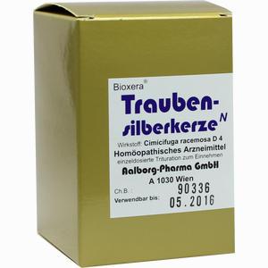 Abbildung von Traubensilberkerze Bioxera Kapseln 60 Stück