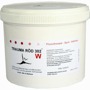 Abbildung von Trauma Röd 302 Physiko Balsam W Salbe 500 ml