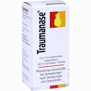 Abbildung von Traumanase Tabletten 50 Stück