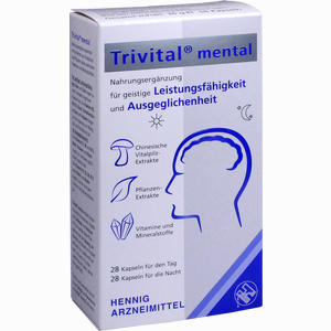 Abbildung von Trivital Mental Kapseln 56 Stück