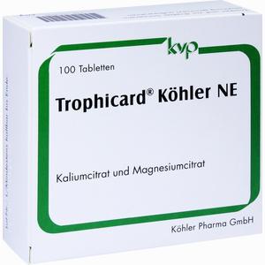 Abbildung von Trophicard Köhler Ne Tabletten 100 Stück