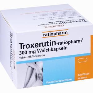 Abbildung von Troxerutin- Ratiopharm 300mg Weichkapseln  100 Stück