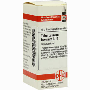 Abbildung von Tuberculinum Bovinum C12 Globuli  10 g