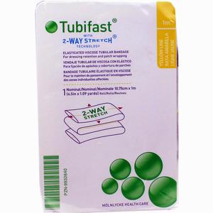 Abbildung von Tubifast 2- Way- Stretch Gelb (10.75 Cm Breit) 1 M Verband 1 Stück