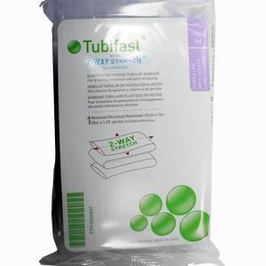 Abbildung von Tubifast 2- Way- Stretch Violett (20cm Breit) 1m Verband 1 Stück