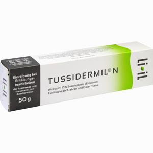 Abbildung von Tussidermil N Emulsion 50 g