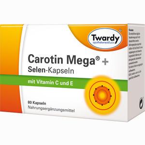 Abbildung von Twardy Carotin Mega + Selen- Kapseln  80 Stück