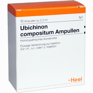 Abbildung von Ubichinon Comp Ampullen 10 Stück