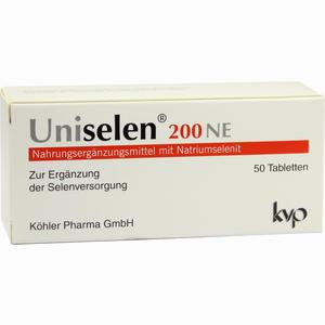 Abbildung von Uniselen 200 Ne Tabletten 50 Stück