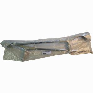 Abbildung von Unterarmkrücke mit Anatomischem Griff Grau 2 Stück