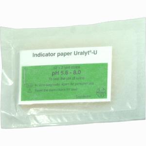 Abbildung von Uralyt U Indikatorpapier Teststreifen 52 x 2 Stück