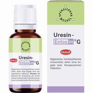 Abbildung von Uresin- Entoxin G Globuli 10 g