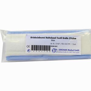Abbildung von Urin- Beinbeutel Halteband Textil 37cm Klein 1 Stück