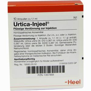 Abbildung von Urtica- Injeel Ampullen  10 Stück