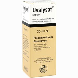 Abbildung von Uvalysat Bürger Tropfen 30 ml