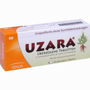 Abbildung von Uzara 40mg überzogene Tabletten  50 Stück