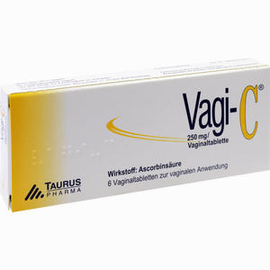 Abbildung von Vagi- C Vaginaltabletten 6 Stück